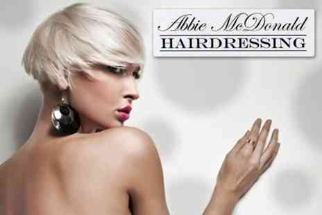 Abbie Mcdonald Hairdressing - Cut, Hair Treatment, and Blow Dry - Save 62%