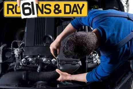 Robins and Day - VOSA Approved MOT, External Wash and Internal Vacuum - Save 58%