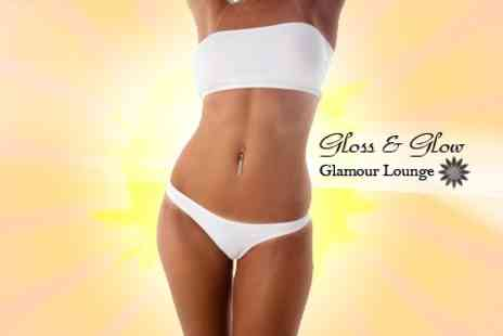 Gloss & Glow Glamour Lounge - Full Body Spray Tan - Save 64%