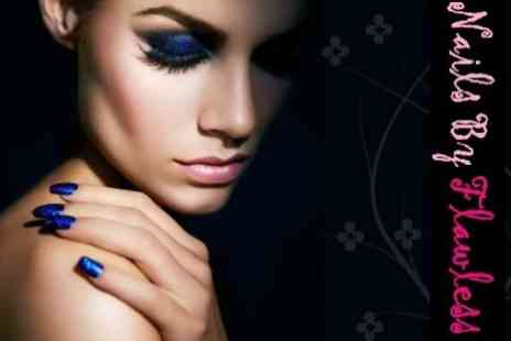 Nails by Flawless - Luxury Manicure With Shellac or Minx Nails - Save 74%