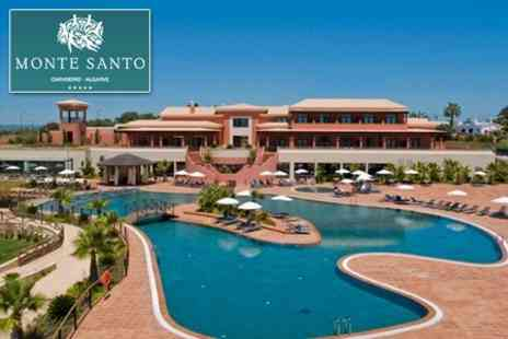 Monte Santo Resort - Discover the Algarve with a Seven Night Stay for Two People in a 75 metre sq Suite at the 5* Monte Santo Resort - Save 50%