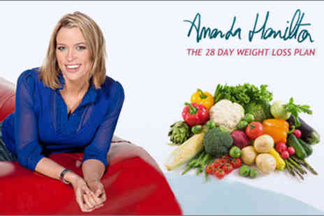 Amanda Hamilton Weight Loss - Online 28 Day Real Results Weight Loss Programme worth £39.95 - as seen on GMTV and LK Today - Save 69%