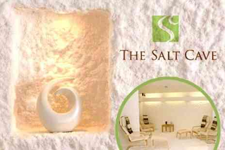 The Salt Cave - One Sessions of Salt Therapy - Save 71%