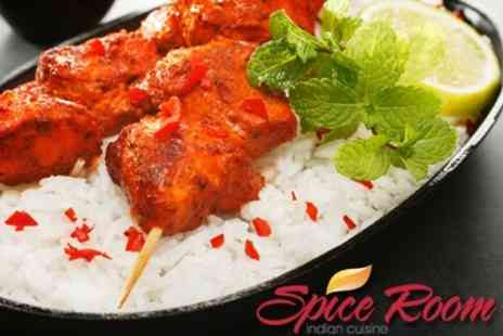 Spice Room - Indian Banquet for Two for £20 - Save 66%