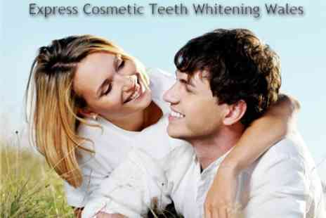 Express Cosmetic Teeth Whitening - One Hour Teeth Whitening Treatment for £75 - Save 71%