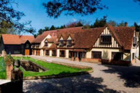 Great Hallingbury Manor - Night for 2 inc cream tea, breakfast & more - Save 47%