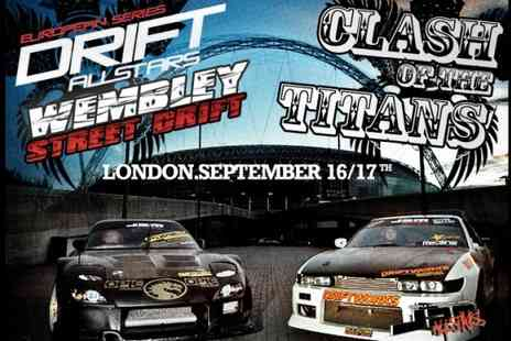 Drift Allstars - £7.50 instead of £15 for a ticket to the European Series Drift Allstars final at Wembley on 17th September - Save 50%