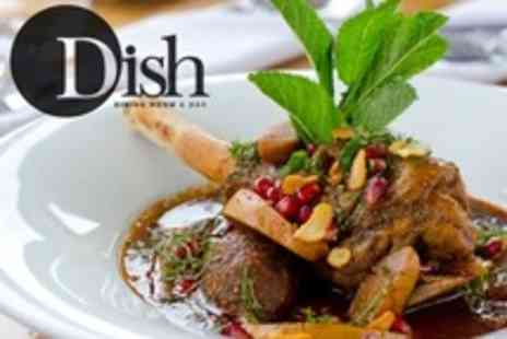 Dish - Fine Dining Lunch For Two With Side and Drink Each - Save 65%