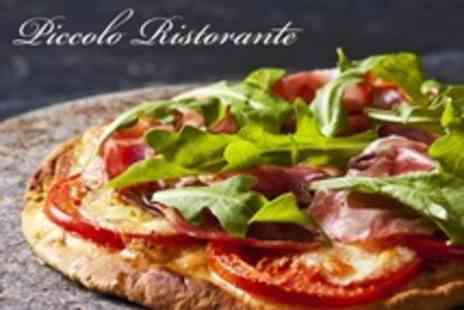 Piccolo Ristorante - Pizza or Pasta For Two - Save 30%