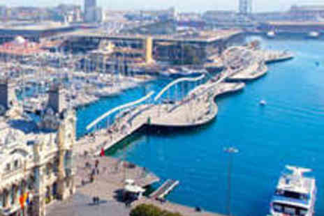 H10 Marina Barcelona Hotel - Two Night Stay for Two People - Save 50%