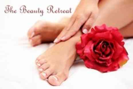 The Beauty Retreat - Shellac or Gelish Mini Manicure or Pedicure - Save 64%