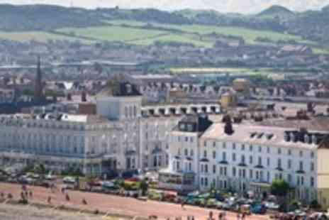 Esplanade Hotel - In Llandudno One Night Stay For Two With Golf and Breakfast - Save 20%