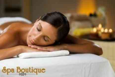 The Spa Boutique - Pamper Package Microdermabrasion, Massage and Manicure - Save 73%