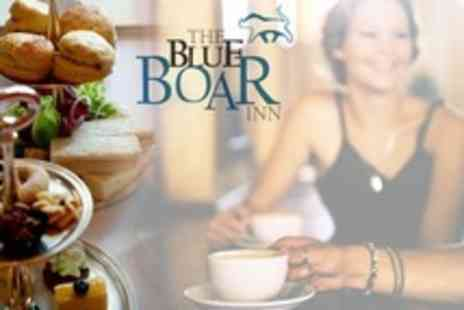 The Blue Boar - Afternoon Tea For Two With Champagne - Save 25%