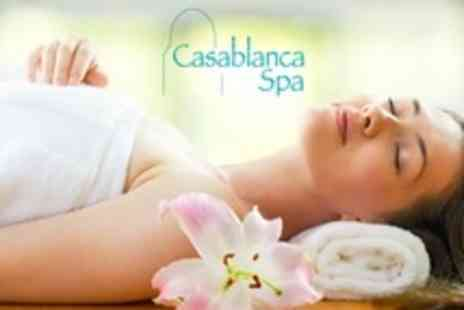 Casa Spa - Hammam Treatment With Black Soap Exfoliation and Chocolate Mask For One - Save 13%