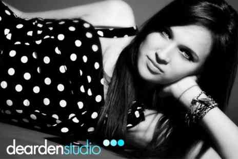 Dearden Studio - Fashion Photography Shoot With Style Consultation, Make Up And Framed Print - Save 86%