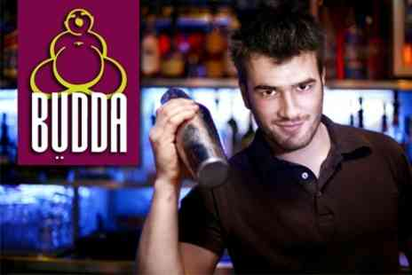 Bar Budda - 90 Minute Interactive Cocktail Master Class For Two Plus Buffet for £20 - Save 60%