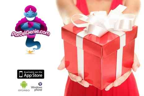 Parcel Genie - Voucher to use on the service that makes sending real gifts as easy as sending a text - Save 63%