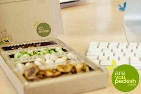 Are You Peckish - 57% Off A Tasty and Healthy Snack Box Delivered to Your Door for Only £1.49 (valued at £3.49) - Save 57%
