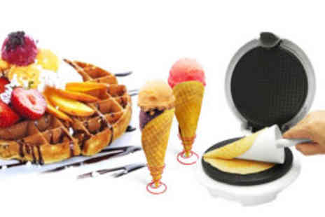 Premium Cookware - Montiss waffle and cone maker  - Save 64%