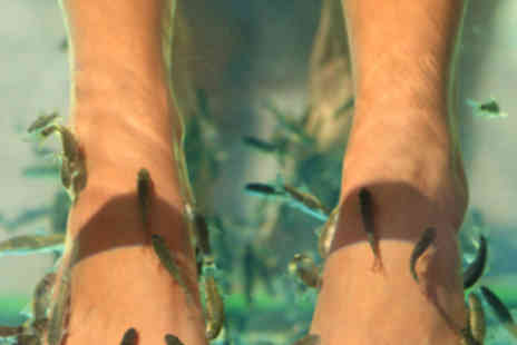 Destiny - 30 Minute Fish Pedicure with File Buff and Paint - Save 64%