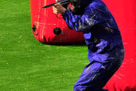 QLeisure Speedball Paintball - Three Hour Speed Paintball Session for One Person - Save 78%