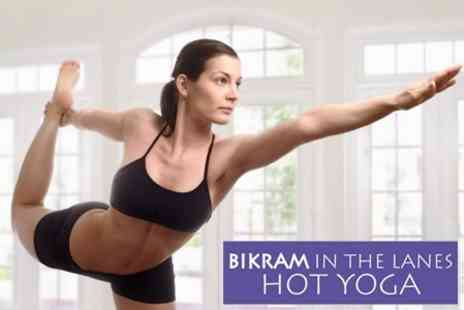 Bikram In The Lanes - Ten Hot Bikram Yoga Classes - Save 72%