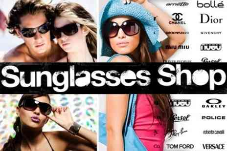 Sunglasses Shop - £17.50 for a £50 voucher to spend on designer sunglasses - Save 65%