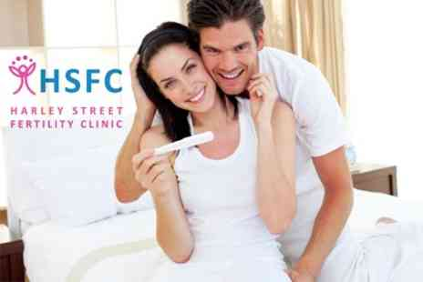 Harley Street Fertility Clinic - Male Fertility Testing Package - Save 67%