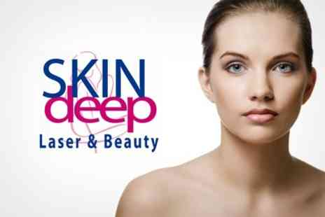 Skin Deep Laser and Beauty - Six Sessions of Nd YAG Laser Hair Removal on One Medium or Two Small Areas - Save 78%