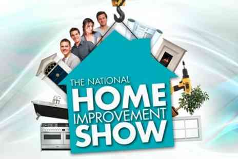 The National Home Improvement Show - Two Tickets - Save 63%
