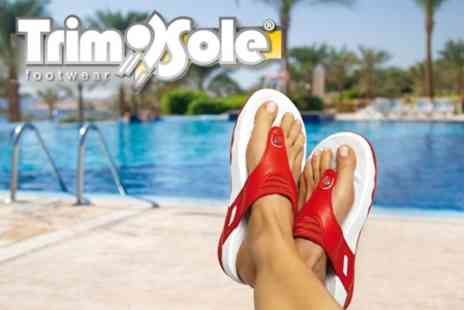 TrimSole.com - One Pairs of TrimSole Sandals - Save 50%