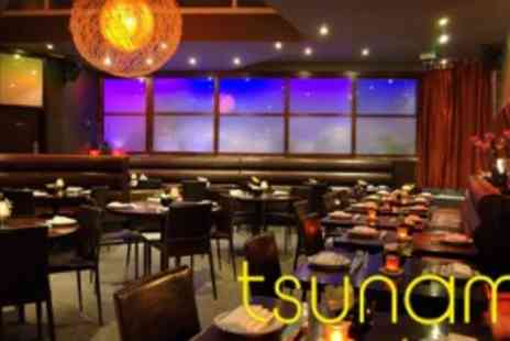 Tsunami Restaurant - Claim 2 for 1 cocktails and 241% off food bill at Tsunami - Save up to 41%