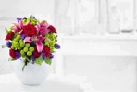 Debenhams Flowers - Valentines Day 'Love' Bouquet - Save 53%
