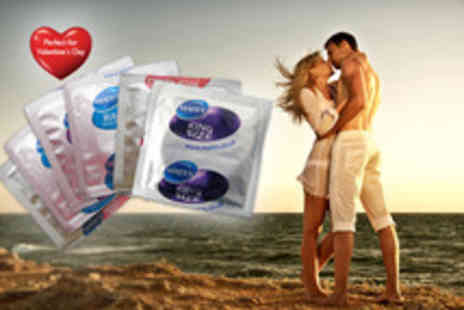 Merchtopia - Pack of 50 Mates condoms in a choice  - Save 78%