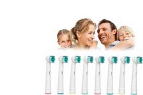 Ministry of Deals - Electric Toothbrush Oral B Replacement Heads x 8 - Save 75%