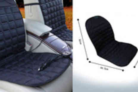 Livmore Ltd - Enjoy heated luxury in your car with The Soothelife Heated Car Seat - Save 72%