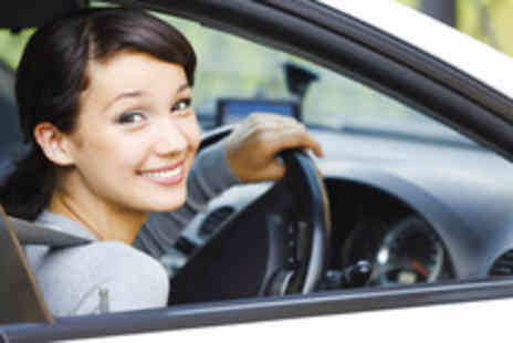 Fishers Driving School - Three hours of driving tuition with Fishers Driving School - Save 86%