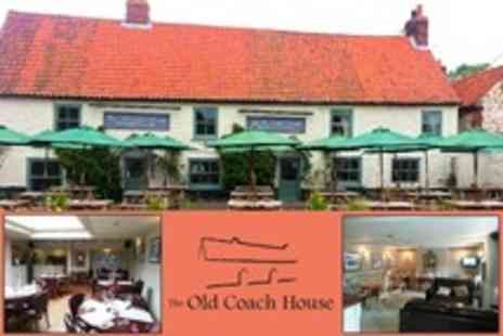 The Old Coach House - One Night Stay For Two With Breakfast and Two Course Dinner - Save 50%