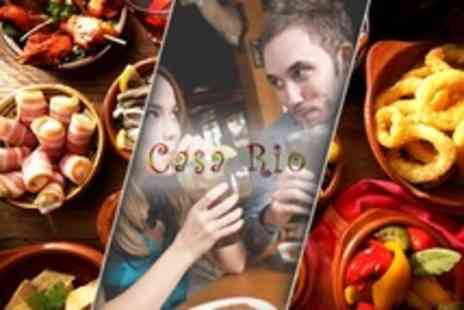 Casa Rio - Six Tapas For Two  - Save 60%