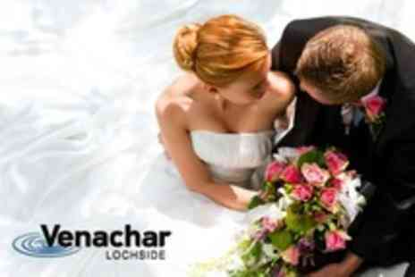 Venachar Lochside - Wedding Venue Package For 50 Guests With Dinner and Drinks - Save 55%