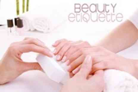 Beauty Etiquette - Five Day Nail Technology Diploma Course - Save 71%