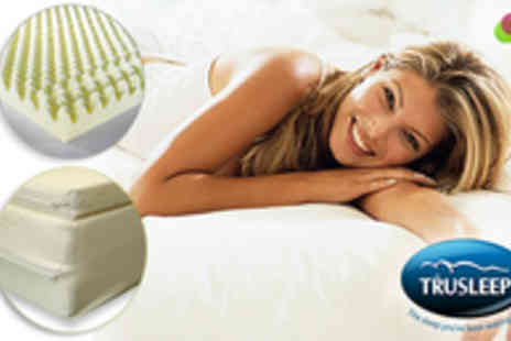 TruSleep - TruSleep Airflow Memory Foam Mattress Toppers Single - Save 60%