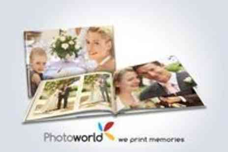 Photoworld - Personalised 98 page large landscape hard-cover CEWE photobook 28cm x 21cm - Save 53%