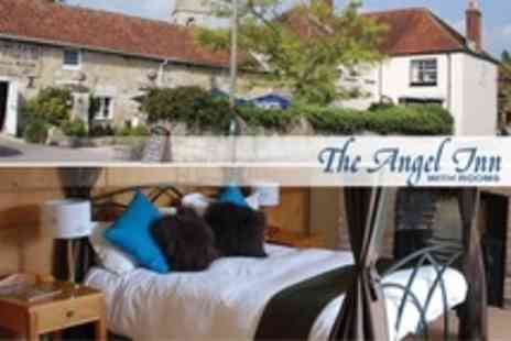 The Angel Inn at Hindon - One Night Stay For Two With Breakfast and Wine - Save 57%