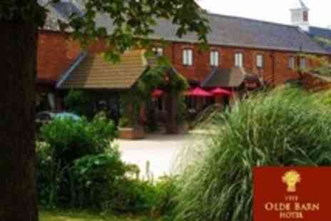 The Olde Barn Hotel - One Night Stay For Two With Three Course Dinner and Breakfast - Save 51%