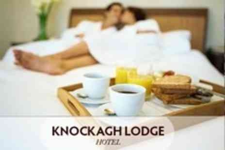 Knockagh Lodge - One or Two Night Stay For Two With Bottle of Wine and Breakfast - Save 50%