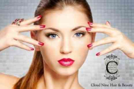 Cloud Nine - Jessica Manicure and Glo Flower Enzyme Facial - Save 52%