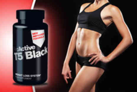 Desirable Body - 1month supply of T5 Black Fat Burner supplement pills - Save 50%