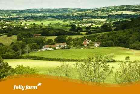 Folly Farm - Two Night Stay For Two in Self Catering Accommodation - Save 60%